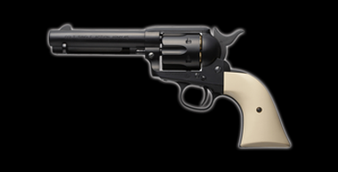 COLT S.A.A.45 Peacemaker X-cartridge Black
