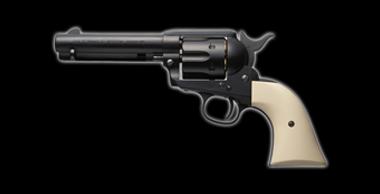 COLT S.A.A.45 Peacemaker X-cartridge Black