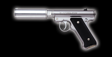 Mk1  ASSASSINS Silencer model Silver
