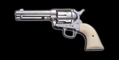 COLT S.A.A.45 Peacemaker X-cartridge Silver