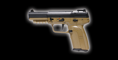 FN Five-seveN 6mmBB CO2 Blowback FDE