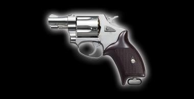 Police Revolver X Cartridge 2inch Silver