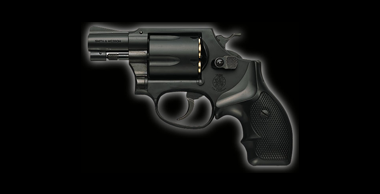 S&W M36 Chiefs Special X Cartridge 2inch Black