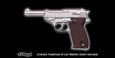 Walther P38 Silver