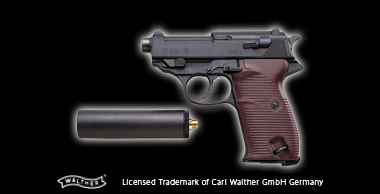 Walther P38 ・Gestapo+Silencer