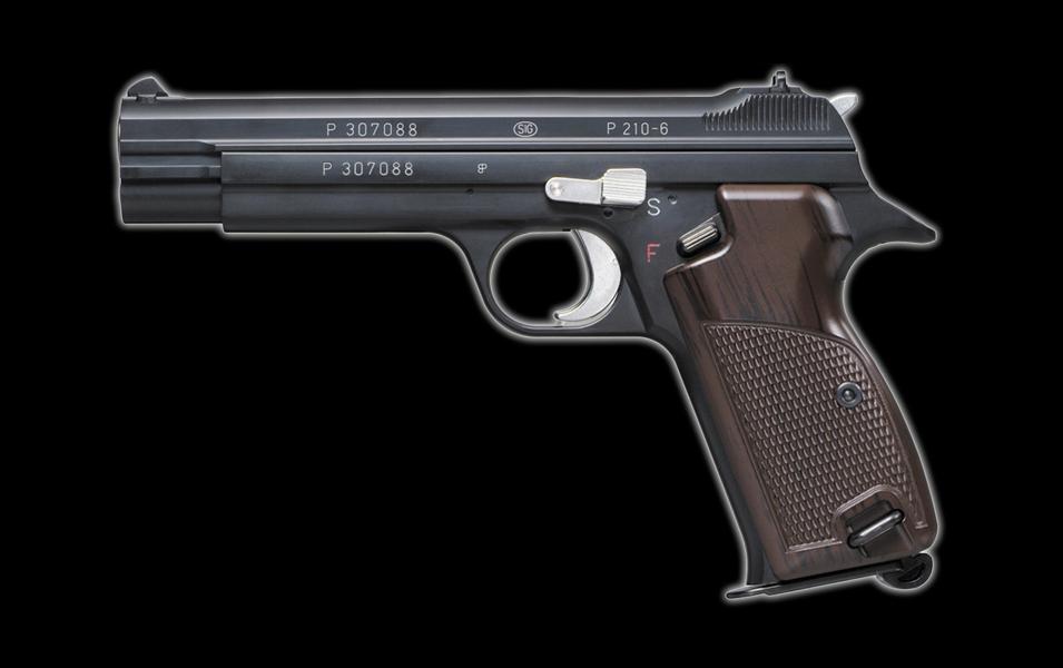 シグ P210-6・8mmBBブローバック SIG P210-6・8mmBB BLOWBACK