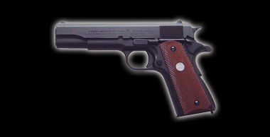 Colt Government M1911A1 Black