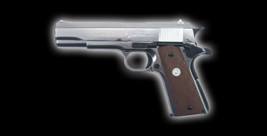 Colt Government M1911A1 Silver