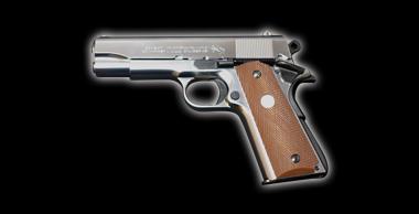 Colt Combat Commander Silver