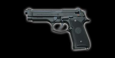 M92F Brigadier Black