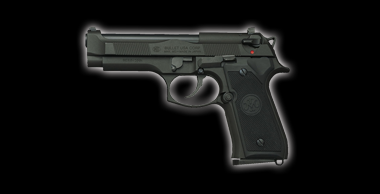 M92F・CQB Black HW