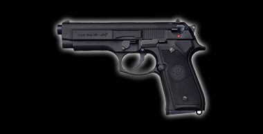 U.S.N 9mm M9 Dolphin Black