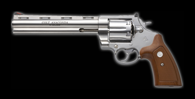 Colt Anaconda X-Cartridge 8inch Silver