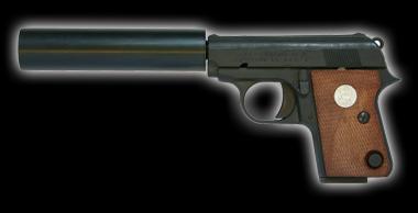 Colt25Auto Silencer model Black HW