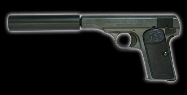 M1910 Silencer model Black HW