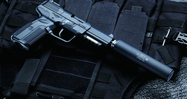 FN Five-seveN SUPPRESSOR MODEL 新登場!※4/27追記あり